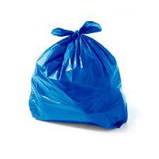 Saco de Lixo Azul - 100 unidades