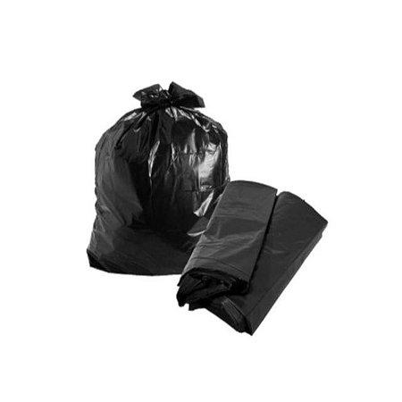 Saco de Lixo Preto - 100 unidades
