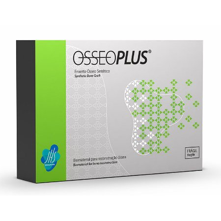 Enxerto Ósseo OSSEOPLUS (Grânulos Corticais 0,5g) - JHS