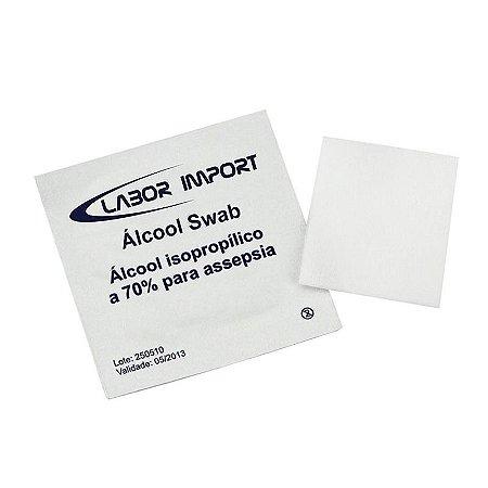 Álcool SWAB (200Un) - LABOR IMPORT