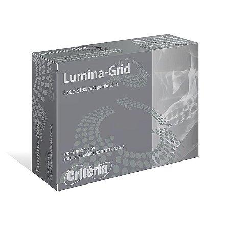 Tela de Titânio LUMINA-GRID MICRO MESH (20x30x0,08mm - 0,5mm) - CRITÉRIA
