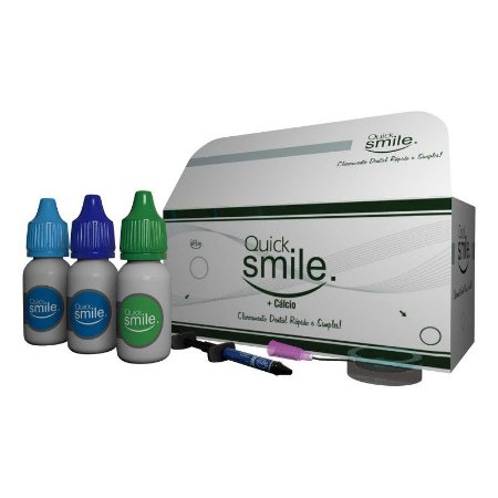 Kit Gel Clareador para LED VERMELHO (Ativador Verde :: 03 Pacientes) - QUICK SMILE