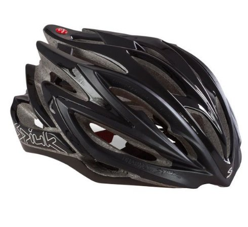 Capacete Para Ciclismo Spiuk Dharma Preto  - Mountain Bike ou Speed