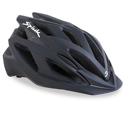 Capacete Para Ciclismo Spiuk Tamera Preto Fosco - Mountain Bike Ou Speed