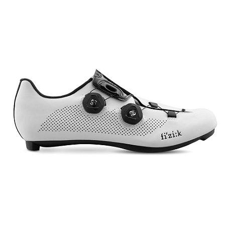 Sapatilha Para Ciclismo Fizik R3 ARIA Branca  SPEED - Ciclismo de Estrada
