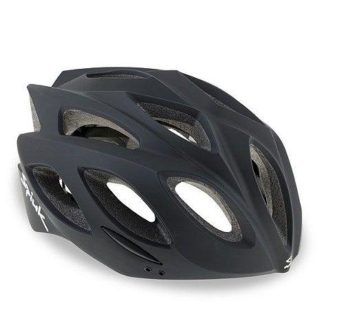 Capacete Para Ciclismo Spiuk Rhombus Preto Fosco - Mountain Bike e Speed