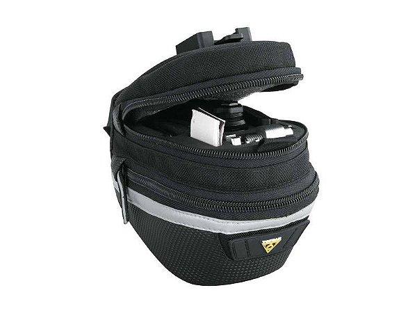 Bolsa De Selim Topeak Survival Tool Wedge Pck Ii - Bolsa bikepacking 0,95 Litros TC2276B