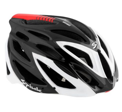 Capacete Para Ciclismo Spiuk Preto Com Branco - Mountain Bike e Speed