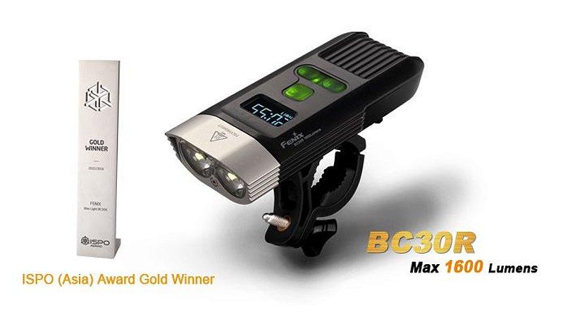 Lanterna Fenix BC30R - Mais De 20h De Autonomia - 1600 Lumens