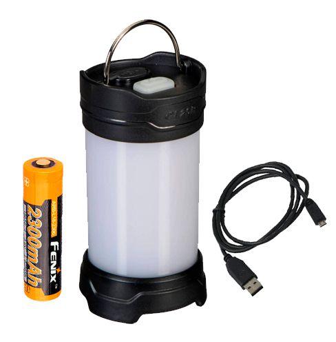 Lanterna Fenix CL25R BlackPara Camping - 350 Lumens