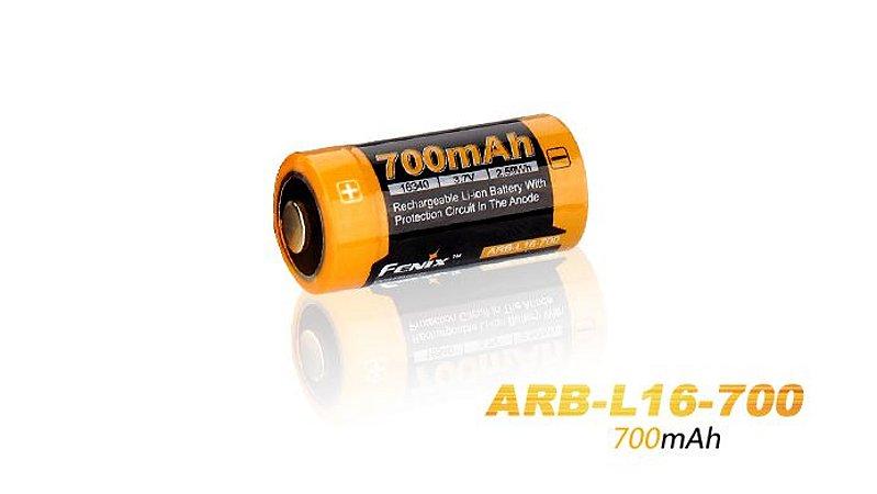 Bateria Fenix 16340/CR123A - 700mAh