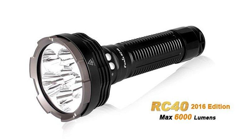 Lanterna Recarregável Fenix  RC40 - 6000 Lumens