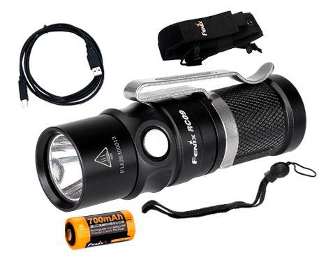 Lanterna Recarregável Fenix RC09 550 Lumens