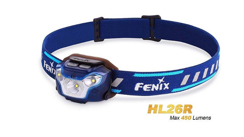Lanterna Fenix HL26R Azul- 450 Lumens
