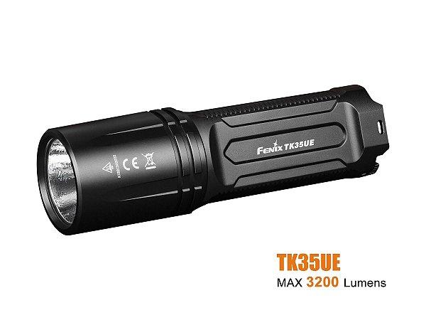 Lanterna Fenix TK35UE 2018 - Preta 3200 Lumens