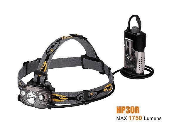 Lanterna Fenix - HP30R Cinza - 1750 Lúmens