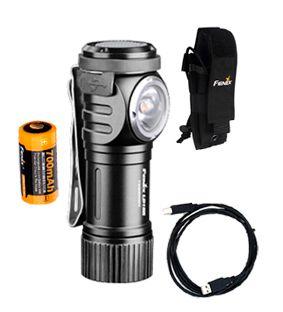 Lanterna Fenix - Modelo LD15R Preta - 500 Lúmens