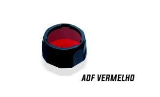 Filtro para Lanterna Fenix - Modelo AOF-S+ Vermelho