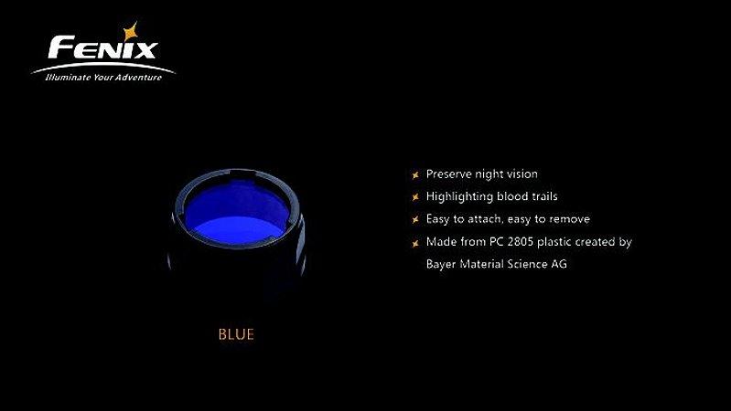 Filtro para Lanterna Fenix - Modelo AOF-S+ Azul