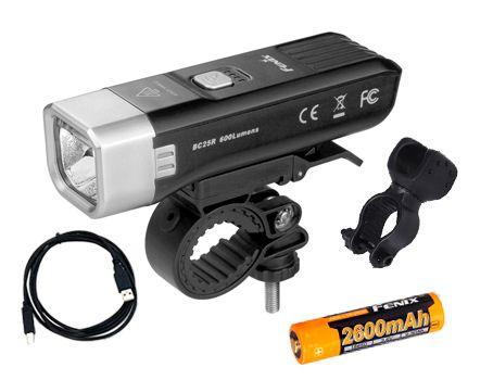 Lanterna para Bike BC25R 600 Lumens