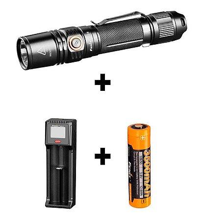 Lanterna Fenix Pd35 V2.0 2018 + Bateria 3500 Mah + Carregador Are-D1