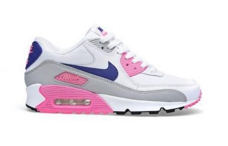 f955cc98ab6 ... denmark tênis nike air max 90 branco e rosa 8735f 176d7