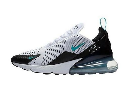 Tênis Nike Air Max 270 Branco e Azul