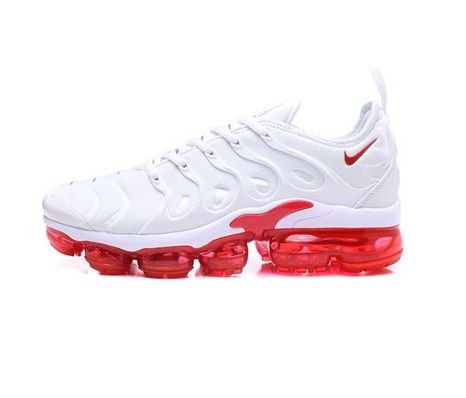 Tênis Nike Air VaporMax Plus Branco e Vermelho
