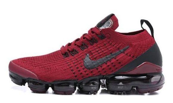 Tênis Nike Air Vapormax Flyknit 3 Vermelho e Preto