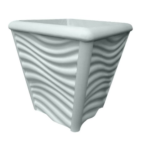 ART 810 - Forma p/ Vaso 3d Ondas - ABS 1.5 mm 22 x 25 cm