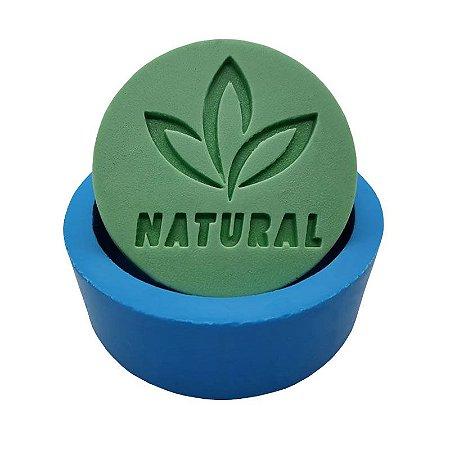 MDL 04 - Molde de silicone p/ sabonete - Natural