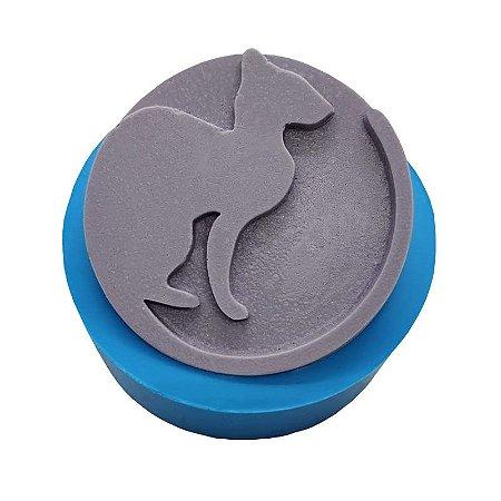 MDL 10 - Molde de silicone p/ sabonete - Gato