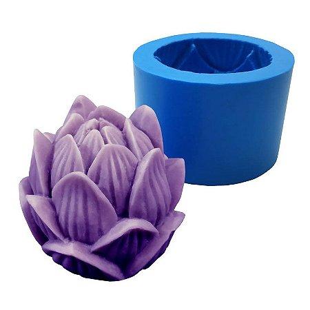 MDL 18 - Molde de silicone p/ Sabonete ou Vela - Flor
