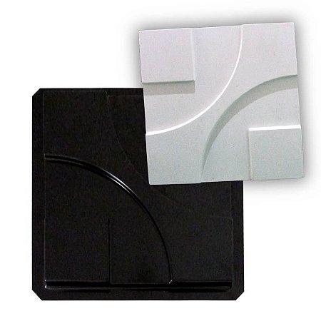 BLACK 19 - Forma ABS 2mm Gesso/Cimento - Argo 38,5 X 38,5 cm