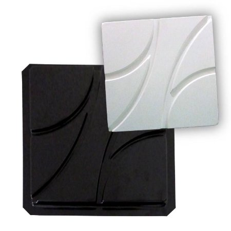 BLACK 32 - Forma ABS 2mm Gesso/Cimento - Future 38,5 X 38,5 cm