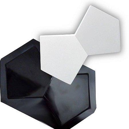 BLACK 44 - Forma ABS 2mm Gesso/Cimento - Luxuria 39 x 24 cm