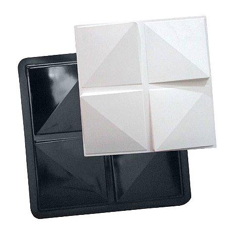 BLACK 57 - Forma ABS 2mm Gesso/Cimento - Cronos 40,5 x 40,5 cm