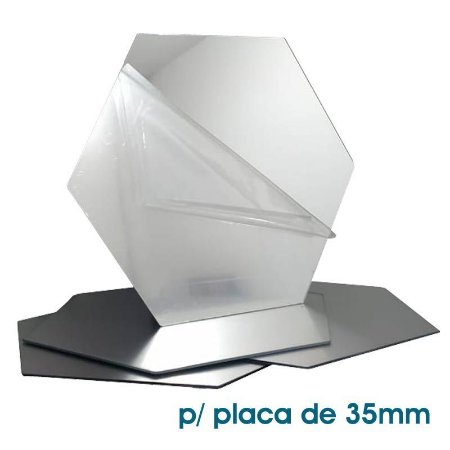 Acrílico Reflex para placas mod. 71 de 35mm (unitário)