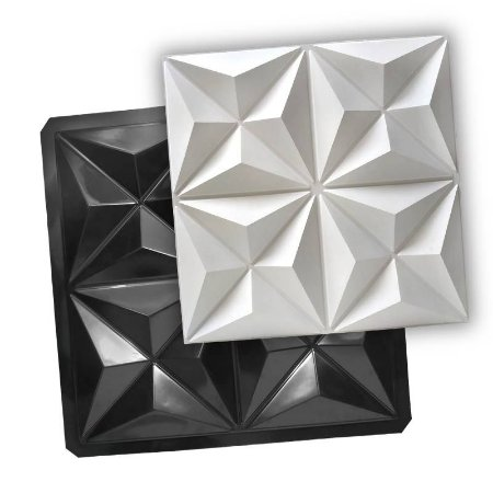 BLACK 405 - Forma ABS 2mm Gesso/Cimento - Cullinans 50 X 50