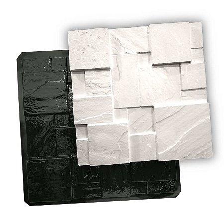 BLACK 411 - Forma ABS 2mm Gesso/Cimento - Mosaico São Thomé 50 X 50 cm