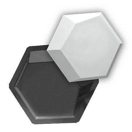 BLACK 75 - Forma ABS 2mm Gesso/Cimento - Turtle 33 X 28,5 cm