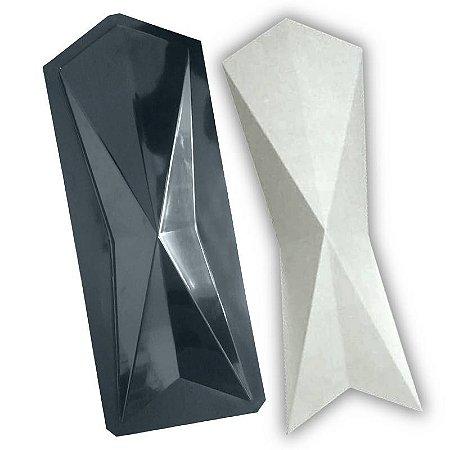 BLACK 422 - Forma ABS 2mm Gesso/Cimento - Harugami 60 X 20 CM