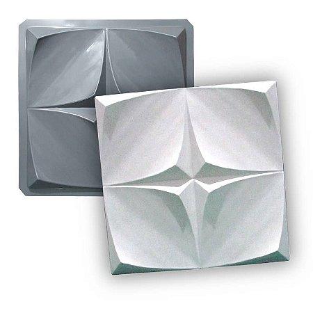 MAX 46 - Forma 3d PET 1,5mm p/ gesso - ilusion 40,5 x 40,5