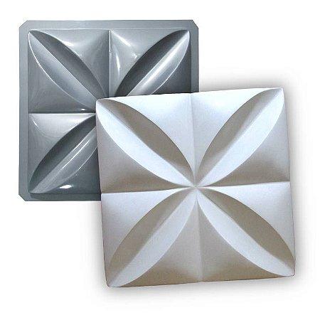 PRO 02 - Forma ABS 1.5 mm Gesso/Cimento - Pétalas 35,5 X 35,5 cm