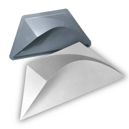 PRO 69 - Forma ABS 1.5 mm Gesso/Cimento - Atlantis 49,5 x 22 cm