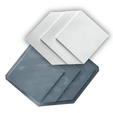 PRO 74 - Forma ABS 1.5 mm Gesso/Cimento - Patente 50 x 32 cm