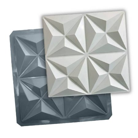 PRO 80 - Forma ABS 1.5 mm Gesso/Cimento - Mini Culinans - 40 x 40 cm