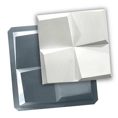 PRO 82 - Forma ABS 1.5 mm Gesso/Cimento - Mini Prisma 30,5 X 30,5 cm