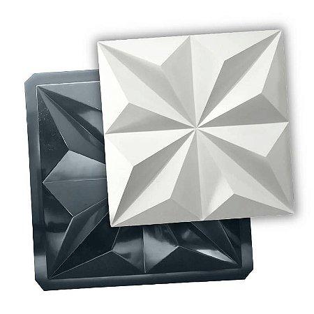 BLACK 83 - Forma ABS 2mm Gesso/Cimento - Mini Piramides 40 X 40 cm