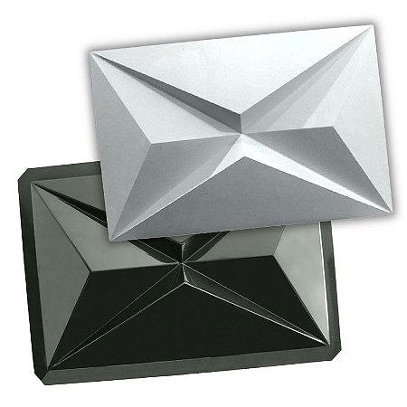 BLACK 91 - Forma ABS 2mm Gesso/Cimento - Onix 45 x 30 cm